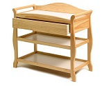 Storkcraft - Aspen Changing Table with Drawer, Natural.