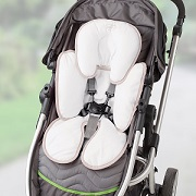 Baby Head Neck Support in stroller.