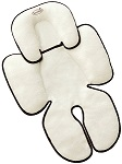 Summer Infant Snuzzler White Black Trim