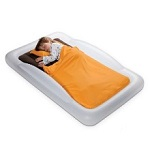 The Shrunks travel bed is perfect for sleepovers, hotel rooms and transitioning to a big bed.